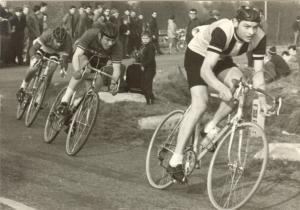 1969 Reusel Districtskampioenschappen Z-O Brabant, Piet van Beurden enz. (foto Adrie van der Heijden)