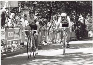 1988 Reusel. Heleen Hage winnares dameskoers