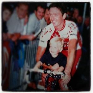 1999 John van den Akker met Bo in Steensel 1999