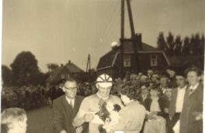 2014-03-23 Luyksgestel 1955 huldiging winnaar Kees Kraayvanger