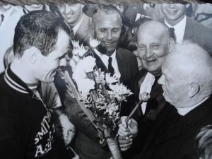 2014-10-30 Spoordonk 1968 Huldiging winnaar Leen Poortvliet (37 foto via heemkunde Spoordonk)