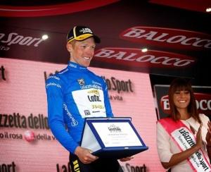2015-05-26 Aprica Steven Kruijswijk bergtrui van de Giro