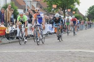 2012 Duizel finish Gert-Jan Bosman, Marco Brus en Dennis Smit (AJ)