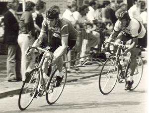 1972 Valkenswaard. Broer Geldens en Klaas Koot