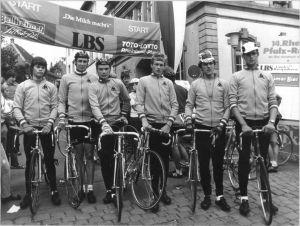 Ploegfoto-Nat.selectie-1979-vanMeer-deRooij-Wijnands-vdPoel-Bierings-Hogervorst