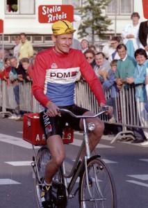 2014-08-12 Valkenswaard 1987 Adrie van der Poel winnaar tijdrit Stella Artois