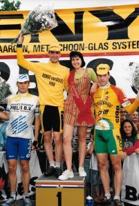 1996 Duizel podium vlnr. Mario Gutte, Herold Dat en Paul van Schalen