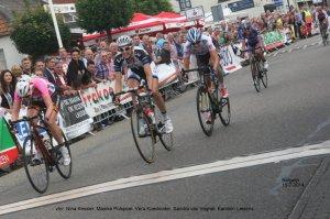 2015-07-11 Bergeijk 2014 finish dames Nina Kessler, Maaike Polspeol, Vera Koedooder (Jo Nederkoorn) IMG_3624-001