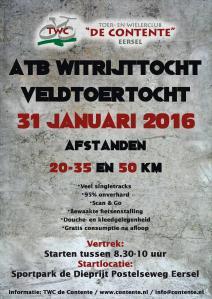 2016-01-29 Veldhoven-Eersel 160131-witrijttocht-flyer